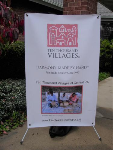 Ten Thousand Villages Sign